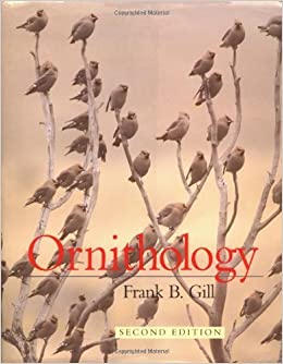 Ornithology gill 3rd edition.