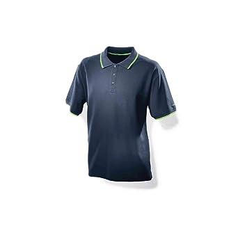4d44e66f971c Festool Poloshirt dunkelblau Herren Festool L  Amazon.de  Baumarkt