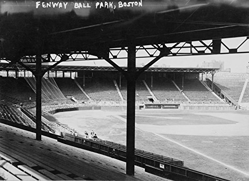 Fenway Park, Boston - Red Sox, Baseball Photo #3 - Vintage Photograph (12x18 SIGNED Print Master Art Print w/Certificate of Authenticity - Wall Decor Travel Poster) ()