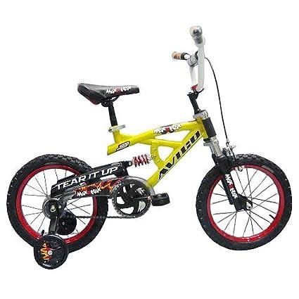 Amazoncom Avigo 16 Inch Maxx Traxx Bike Boys Childrens
