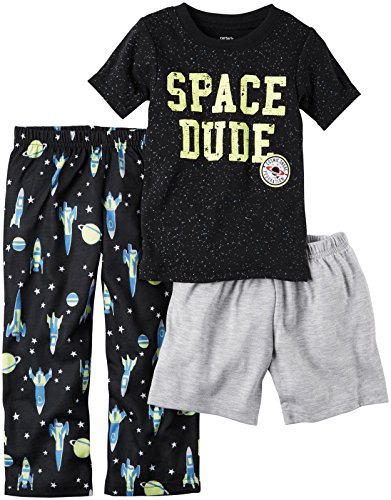 Carter's Boys' 3 Pc Poly 343g070, Print, 3T Toddler ()