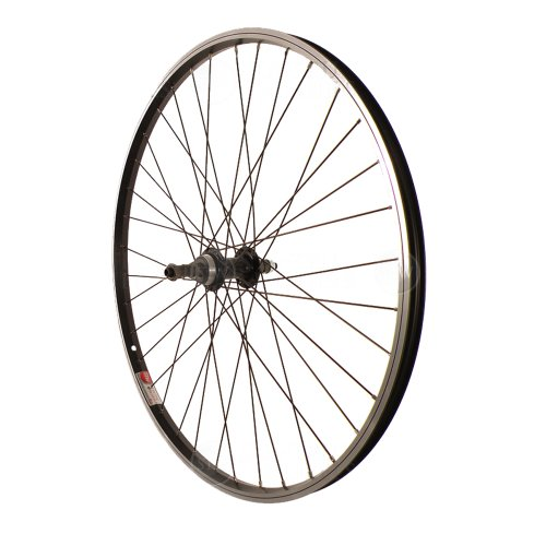 Sta Tru Black ST1 36H Rim Rear Wheel (26X1.5-Inch) ()