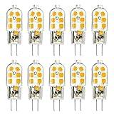 led bi pin bulbs - G4 LED Bulb 10 Pack, KingSo Bi-Pin Base, 20W Halogen Bulb Equivalent, AC/DC 12 Volt, Warm White 3000K