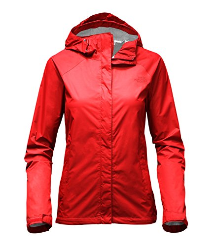 North Face Venture Jacket Women's High Risk Red X-Large