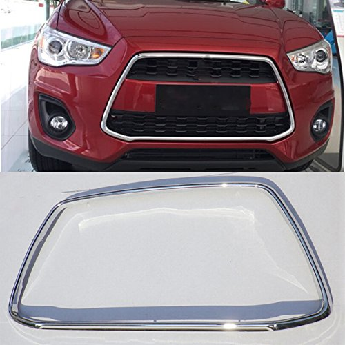 (YUZHONGTIAN 2013-2015 for Mitsubishi RVR/Outlander Sport Front Centre Grill Grille Frame Cover)