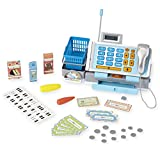 Just Like Home Deluxe Talking Cash Register (Blue)