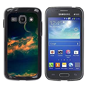 Stuss Case / Funda Carcasa protectora - Half Of The Blue Moon - Samsung Galaxy Ace 3