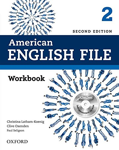 American English File: Am English File 2 Wb W Ichecker 2Ed