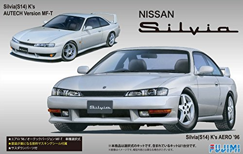 Inch Up: 1/24 Scale Model - ID-84 Nissan Silvia S14 K's Aero'96 Autech (Nissan Model Kit)