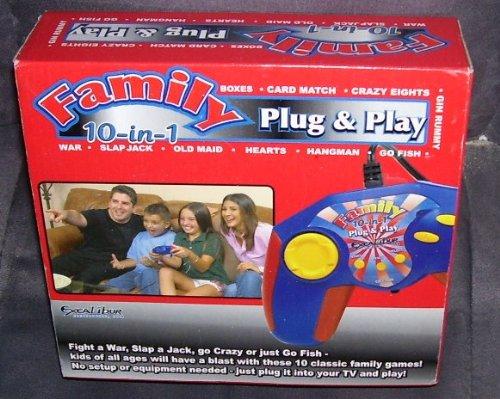 10 in 1 Plug N Play Family Games