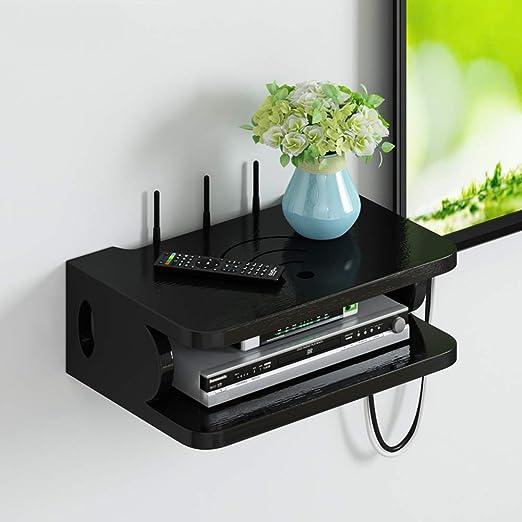 TV Set-Top Box Estante, Router Caja de almacenamiento de ...