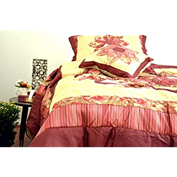 amazoncom dada bedding bm465l1 5piece patchwork sunset