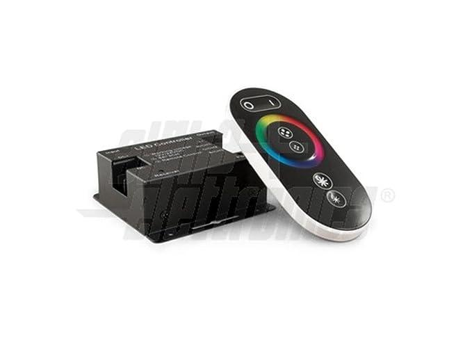 Centralina controller rgb con telecomando touch rf mhz v v