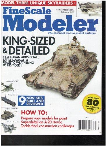 Fine scale Modeler Magazine (King sized and Detailed, February (Fine Scale Modeler)
