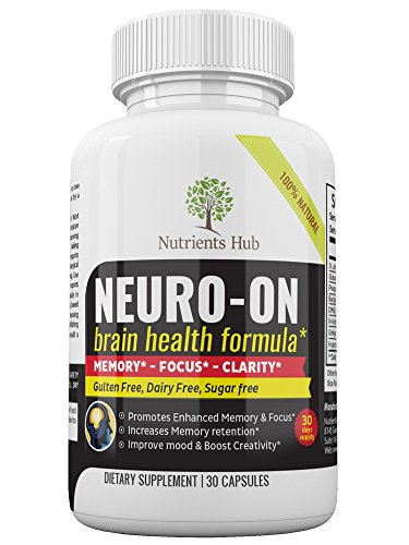 Premium Brain Supplement, Brain Booster, Promotes Focus, Clarity, Memory & Brain Cognitive Function - Physician Formulated Mood Nootropic Stack with Ginkgo Biloba, St. Johns Wort* - 30 Day Supply