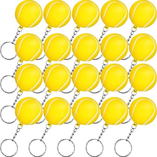 Amazon.com: Blulu - Paquete de 20 llaveros deportivos o ...