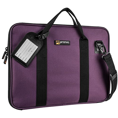 Sheet Music Portfolio Bag with Shoulder Strap, Purple - Pro Tec P5PR