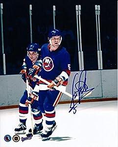 Denis Potvin Autographed Photo - 8x10 w COA - Autographed NHL Photos