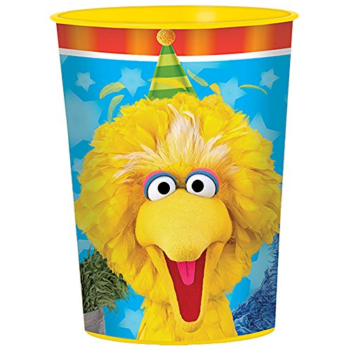 Sesame Street Party Supplies 16 Pack Favor Cups AMZ ONLY ()