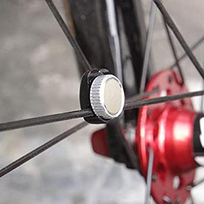 Lexiesxue Hot Computer sensor magnet wheel magnet part of cycling bicycle bike computer speedometer fit for round/areo spoke CAT EYE