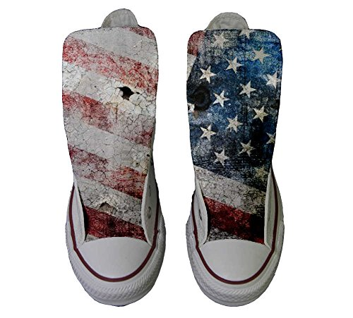 Converse All Star zapatos personalizados Unisex (Producto Artesano) USA Old