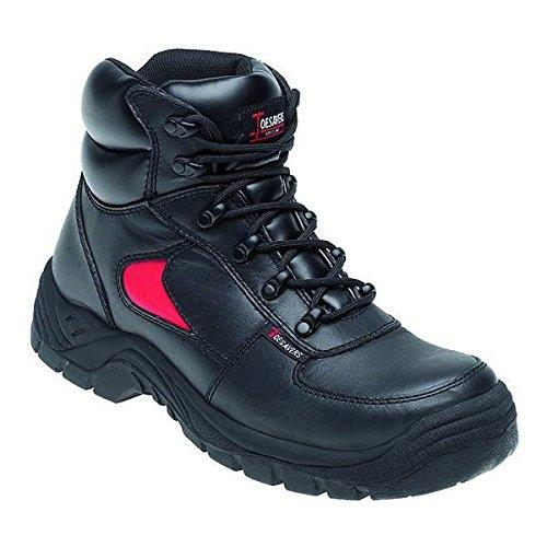 Toesavers 3414-7,0 doppia densità Trainer-Stivali di sicurezza, misura 7, colore: nero