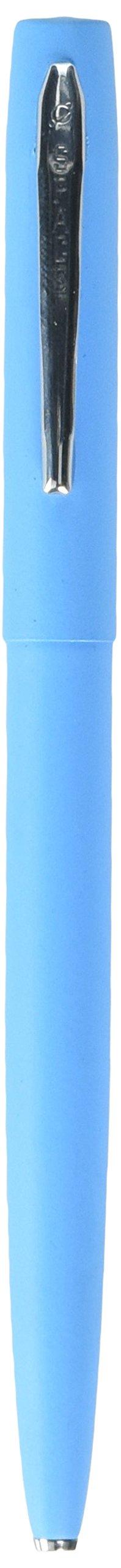 Fisher Space Pen M4 Series, Blue Cap and Barrel, Chrome Clip