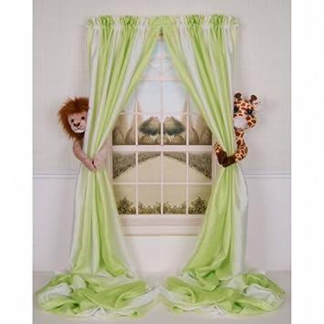 Amazon.com : Curtain Critters ALLNGF270510COL Plush Safari Lion ...