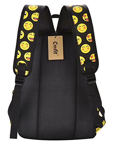 COOFIT School Backpack for Girls Canvas Backpack Laptop Backpacks for Teens by COOFIT (Image #4)
