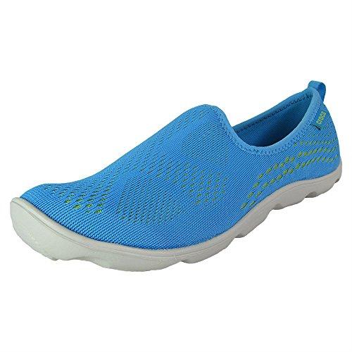 y Day Xpress Mesh Skimmer Shoes, Bold Blue/Volt Green, US 6 ()