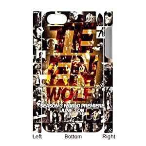 teen wolf Wholesale DIY 3D Cell Phone Case Cover for iPhone 4,4S, teen wolf iPhone 4,4S 3D Phone Case