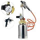 hvlp pressure pot spray gun - YaeTek 2L / 2 Quart Pressure Pot with Gun and Hose Paint and Body Spray Guns