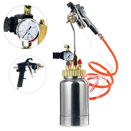 hvlp pressure pot spray gun - 9