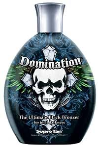 2011 Supre Domination Black Bronzer Mens Tanning Lotion 12 oz.