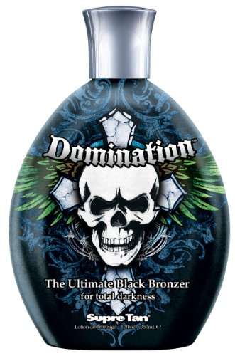 2011 Supre Domination Black Bronzer Mens Tanning Lotion 12 o
