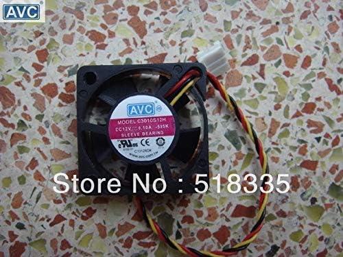 For AVC C3010S12H 303010mm 33cm 3010 silent cooling fan 12V 3CM