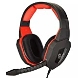 GuDenns PC MAC PS3 PS4 XBOX 360 Wired Stereo Multifunctional Gaming Headset for Pro Gamers with Plug-in Microphone Noise Cancellation Also Compatible with XBOX ONE (If u Already Have an Adapter)