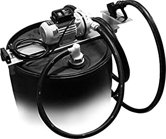 110 volt def transfer system with manual nozzle for 55 gallon drums jmedef55 industrial drum. Black Bedroom Furniture Sets. Home Design Ideas
