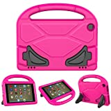 PC Hardware : All-New Fire HD 8 Case,ANTIKE Kids Friendly Shock Proof Handle Convertible Stand Case for Fire HD 8 Tablet (6th Generation, 2016 Release & 7th Generation, 2017 Release) - Rose