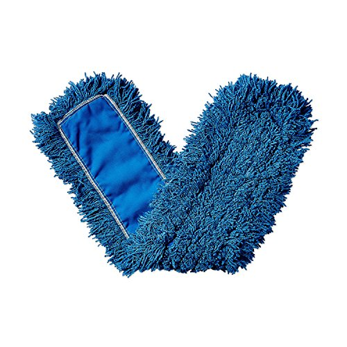 Rubbermaid Commercial Twisted Loop Synthetic Dust Mop, 36-Inch Length x 5-Inch Width, Blue (FGJ35500BL00)