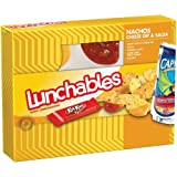 OSCAR MAYER LUNCHABLES NACHOS CHEESE & SALSA PACK OF 3