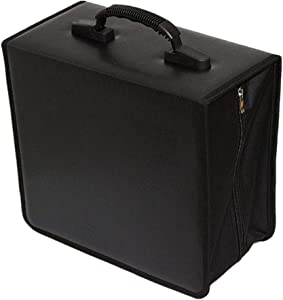 Penlonda Disc CD DVD Bluray Storage Holder Solution Binder Sleeves Carrying Case((400 Capacity))