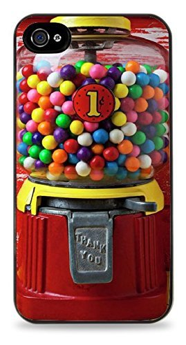 Unique Vintage Gumball Machine PRINT Hardshell Case for iPhone 5 / -