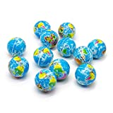 world ball - Bravo Sport Globe Squeeze Stress Balls , 1 Dozen Earth Ball, Stress Relief Novelty Toys for Kids and Adults, Therapeutic Educational World Map Balls, 12 Pieces