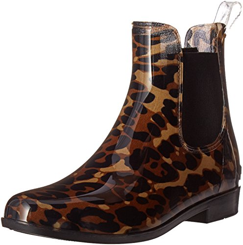 LAUREN by Ralph Lauren Womens TALLY Round Toe Ankle Rainboots Leopard Brown jPJLsRaHt