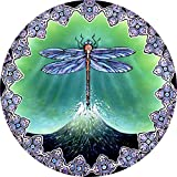 Tire Cover Central Dragonfly Escape Spare Tire Cover for 225/75R16 Jeep RV Camper Trailer (Drop Down menu Sizes Dubois(c)