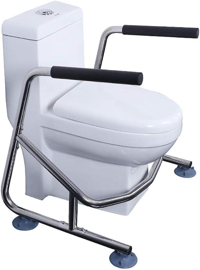 QOVCX Handlauf Badezimmer Edelstahl Handlauf Fortgeschrittene//Behinderte Badezimmer Duschraum Unabh/ängige Saugnapf Toilettensitz Rahmen Gel/änder
