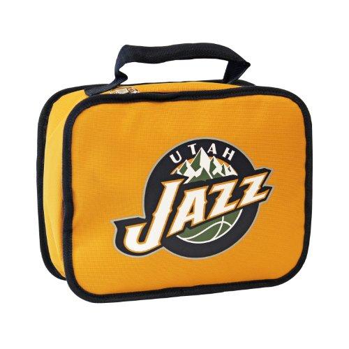 y NBA Utah Jazz Lunchbox, Yellow (Jazz Bag)