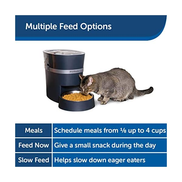 PetSafe Smart Feed Automatic Dog and Cat Feeder, Wi-Fi Enabled Pet Feeder, Smartphone App for iPhone and Android 5