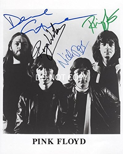 Band Autographed 8x10 Photo - Pink Floyd legendary band reprint signed autographed 8x10 photo RP
